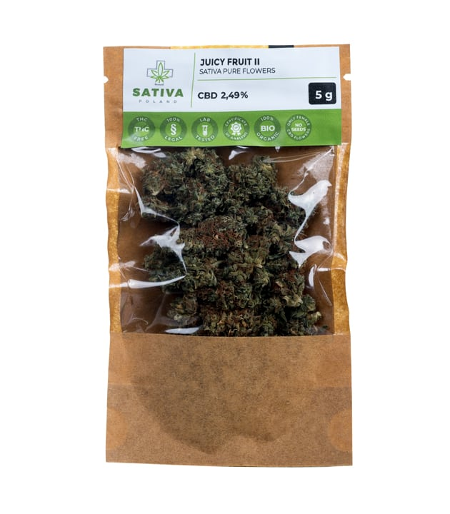 Susz CBD - Sativa Poland - Juicy Fruit II 5g