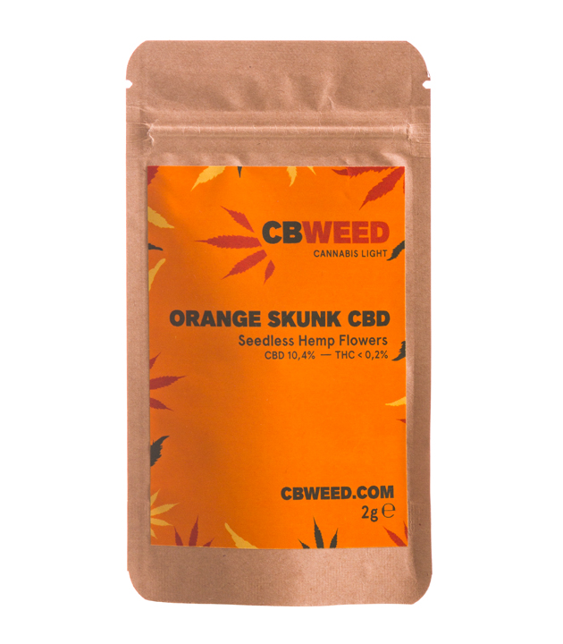 Susz CBD - CBWeed - Orange Skunk 2g 10,4%