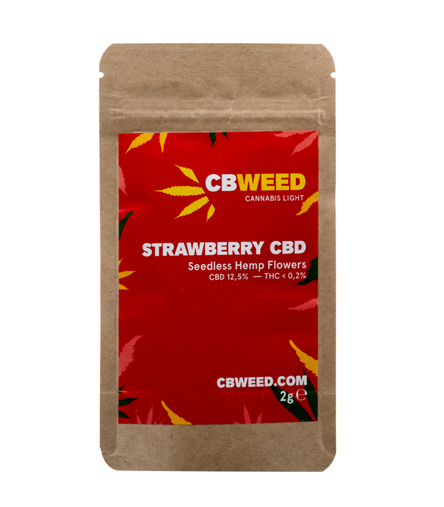 Susz CBD - CBWeed - Strawberry 2g 12,5%