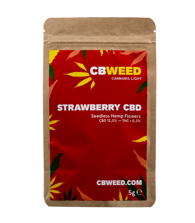 Susz CBD - CBWEED - Strawberry 5g 12,5%