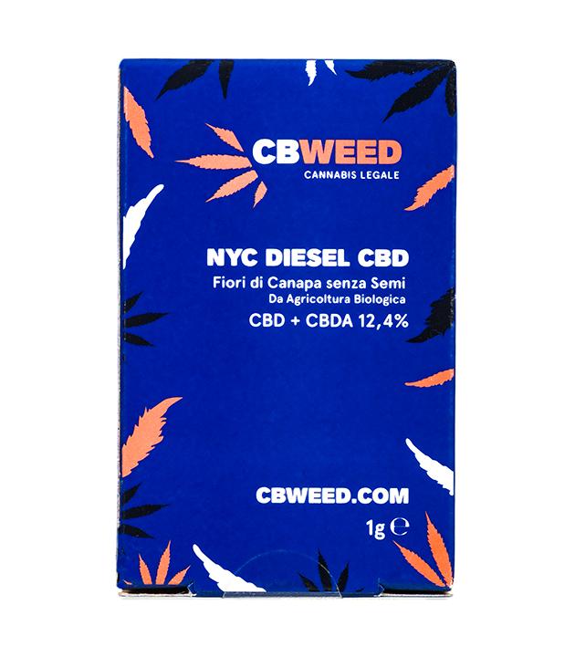Susz CBD - CBWeed - NYC Diesel 12,4%