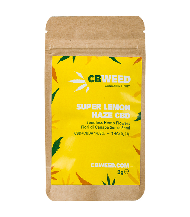 Susz CBD - CBWeed - Super Lemon Haze 2g 12,9%