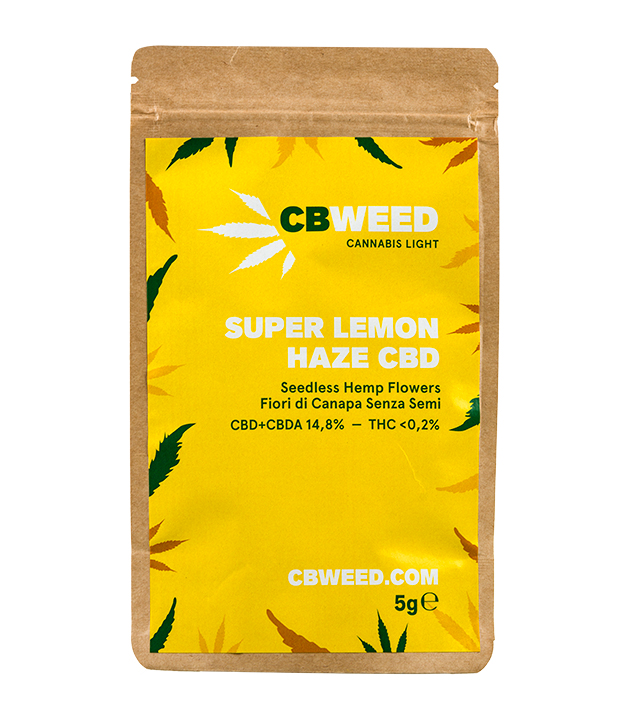 Susz CBD - CBWeed - Super Lemon Haze 5g 12,9%