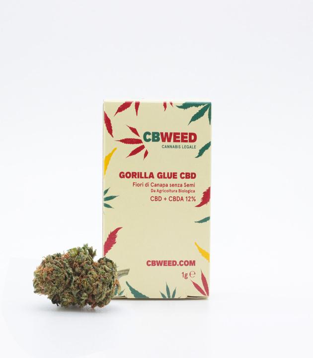Susz CBD - CBWeed - Gorilla Glue Zestaw 5x1g 12%