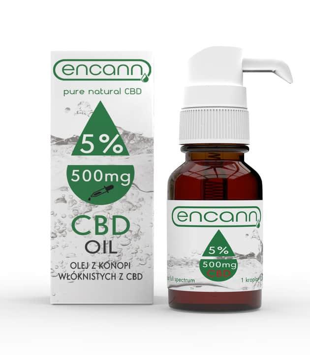 Olej CBD Encann 5%