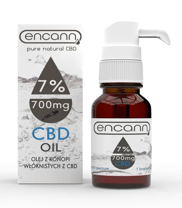 Olej CBD Encann 7%