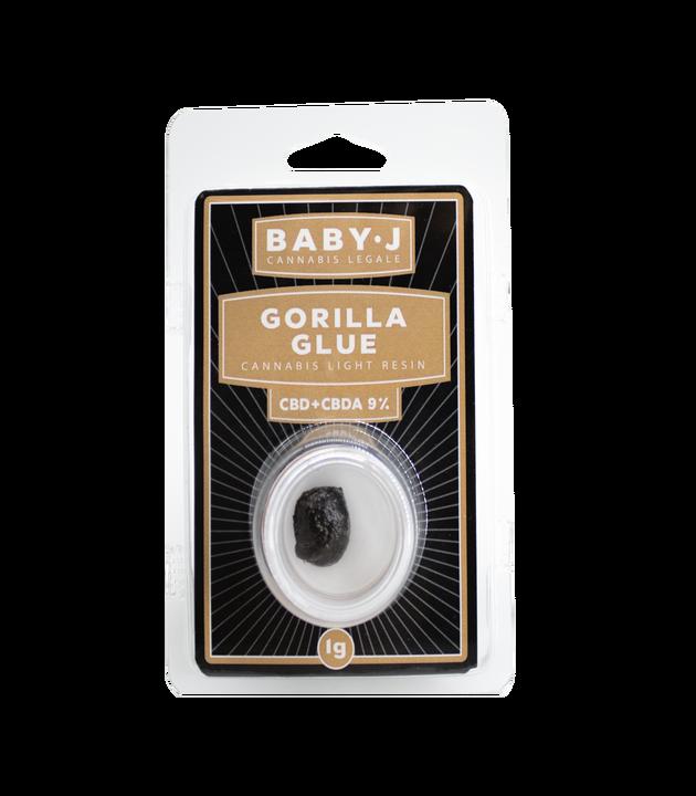 Hash CBD - Baby J - Gorilla Glue 9%