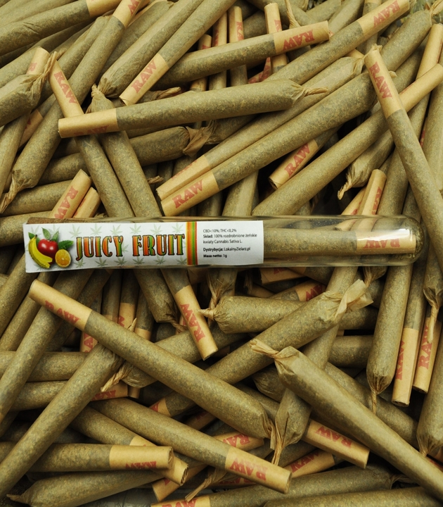 Susz CBD - Juicy Fruit -