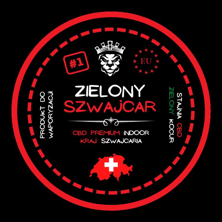Susz CBD - Zielony Szwajcar <5%